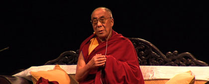 HIS HOLINESS THE 14TH DALAI LAMA